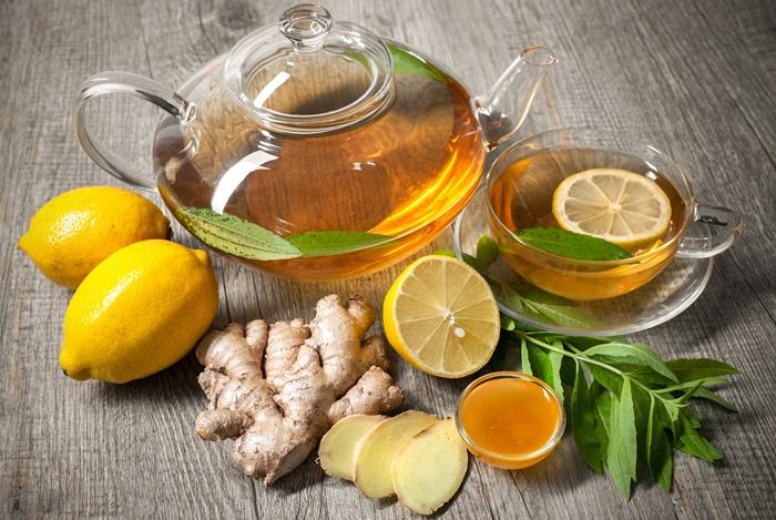 remedios caseros para el estómago hinchado Jengibre