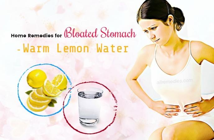 remedios caseros para el estómago hinchado