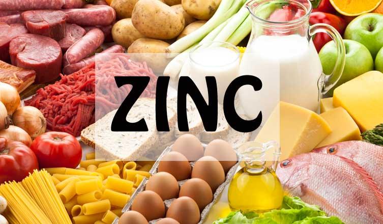 beneficios para la salud del zinc