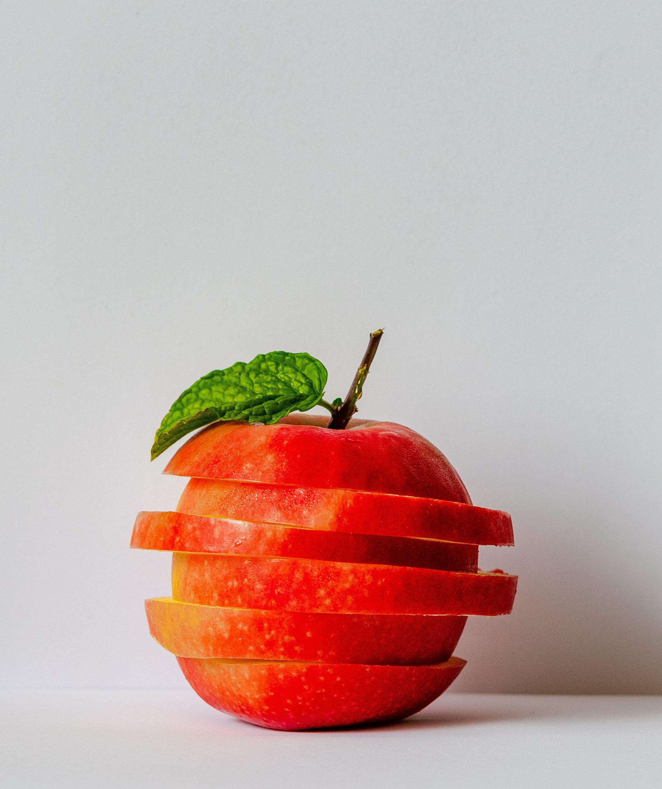 manzana para hacer vinagre de manzana