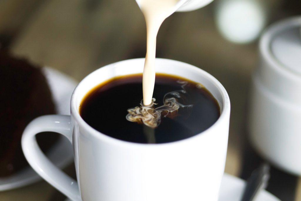 café con Leche de curcuma