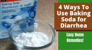 4 formas de usar bicarbonato de sodio para la diarrea (remedios caseros fáciles)