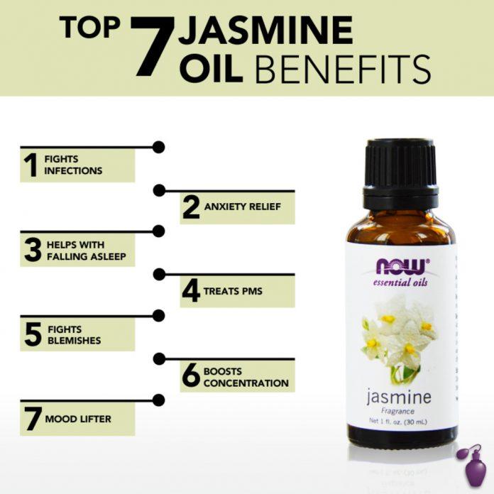 Beneficios del aceite esencial de jazmín