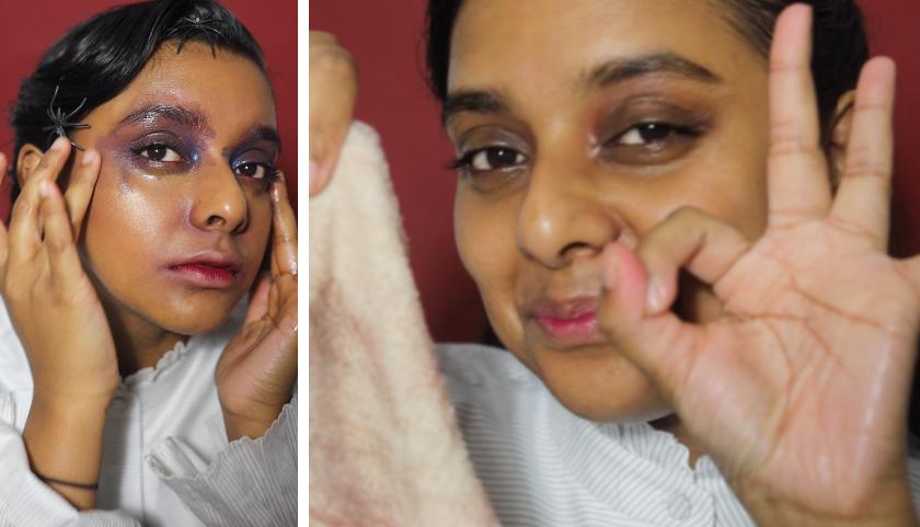 @textbookbeauty comparte su maquillaje y cómo hacer halloween