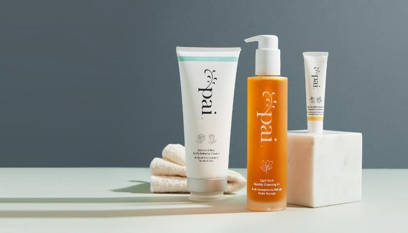 Paquete de doble limpieza Pai Skincares, para una limpieza más profunda adecuada para pieles sensibles.
