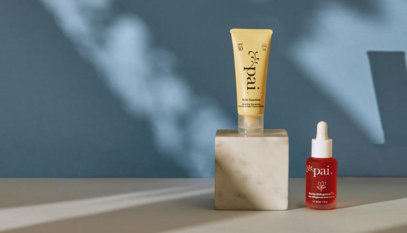 Pai Skincare Hello Sunshine Daily SPF 30 y aceite de rosa mosqueta BioRegenerate Oil