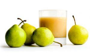 Beneficios para la salud del jugo de pera