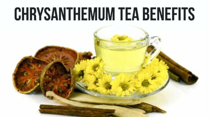 Beneficio para la salud del té de crisantemo