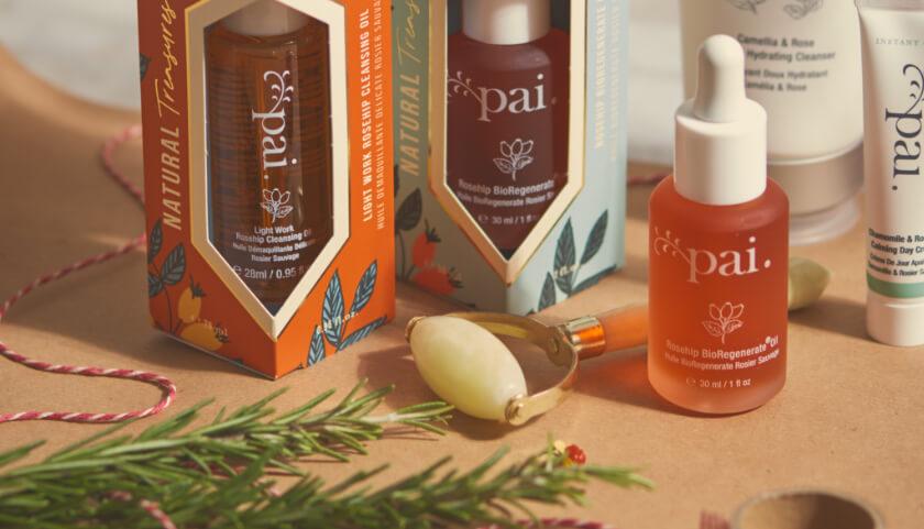 Pai Jade Roller Gift con Natural Treasures Gift Sets y Rosa Mosqueta BioRegenerate Oil