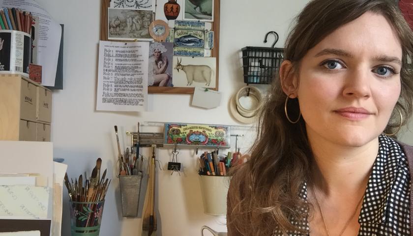 Ilustradora Eleanor Percival para Pai Skincare