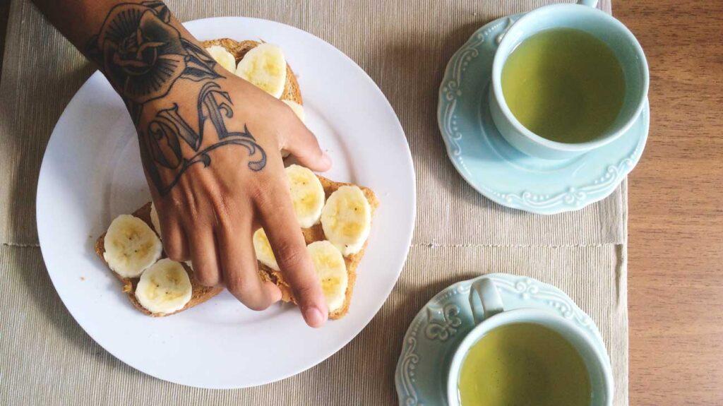 mito del té de plátano