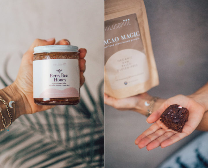 Haga brownies de superalimento de chocolate y menta de Sophie Jaffe