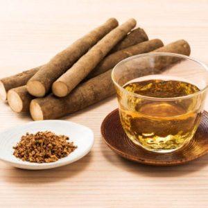cómo hacer té de raíz de bardana
