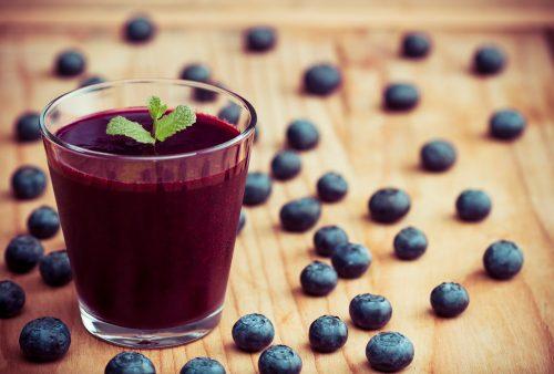 Beneficios para la salud del jugo de arándano