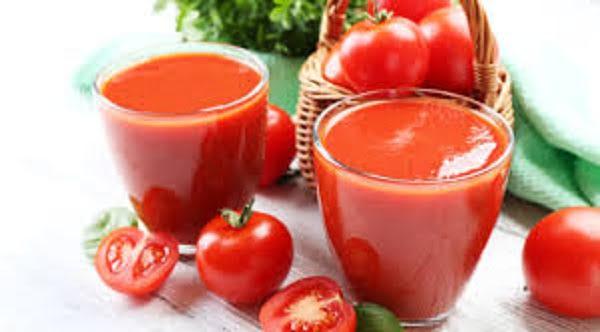 el jugo de tomate beneficia la pérdida de peso