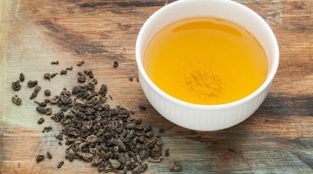 Beneficios para la salud del té verde con pólvora