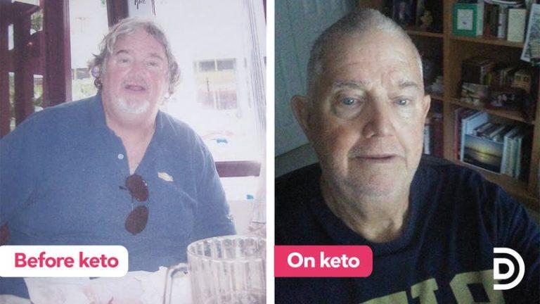 Eliminar los carbohidratos transformó la vida de David a mejor