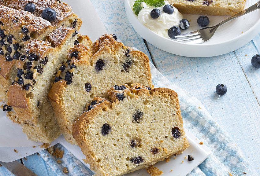 Pan de arándanos y almendras |  Revista True Health