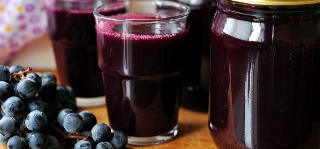 jugo de uva más saludable