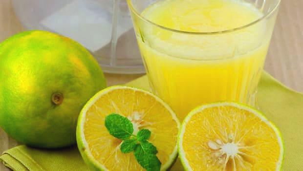nutrición de jugo de mosambi