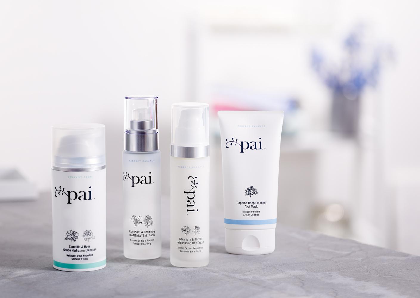 Productos pai para el cuidado de la piel