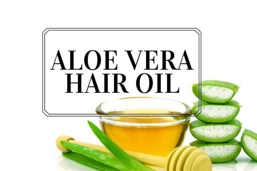 aceite de aloe vera para el crecimiento del cabello