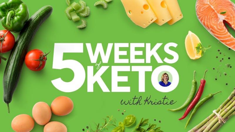 5 semanas de Keto.
