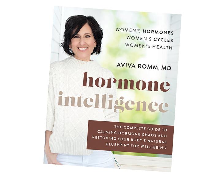 Portada del libro de inteligencia hormonal Aviva Romm