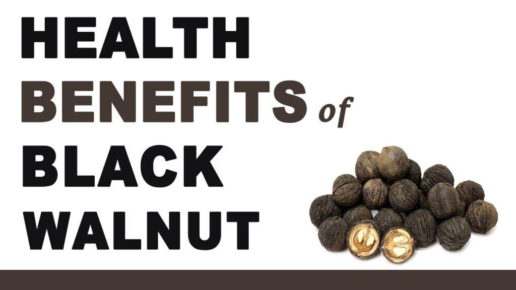 Beneficios para la salud de la nuez negra