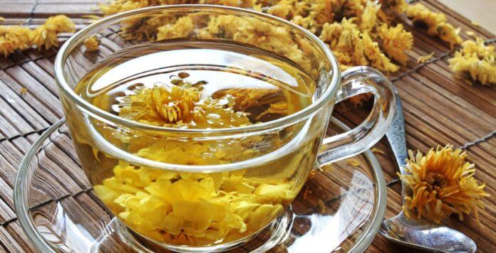 Beneficios para la salud del té de crisantemo