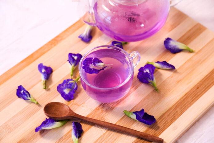 Beneficios para la salud del té de guisantes de mariposa