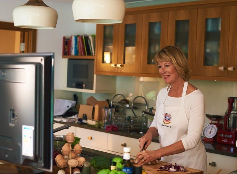Cocina Katie Caldesie