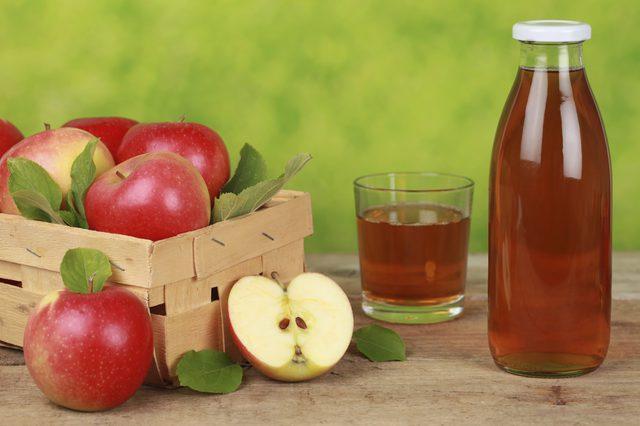 Beneficios para la salud del jugo de manzana