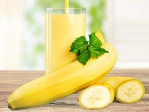 jugo de banano
