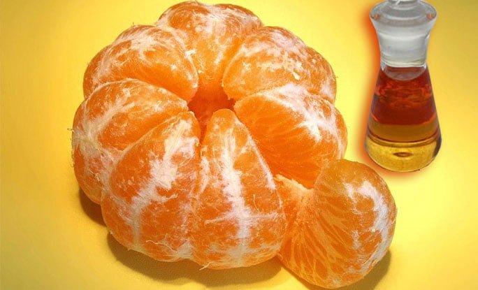 El aceite esencial de mandarina purifica y desintoxica la sangre
