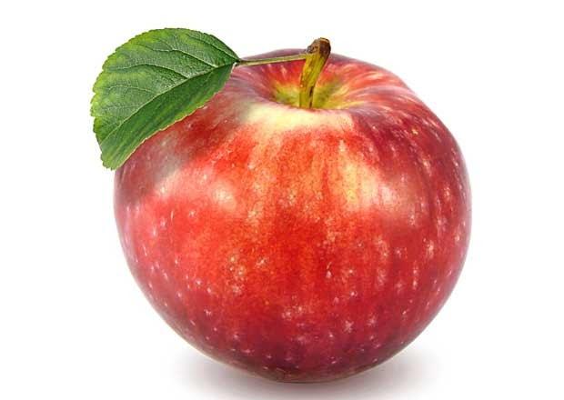 reflujo ácido, manzana