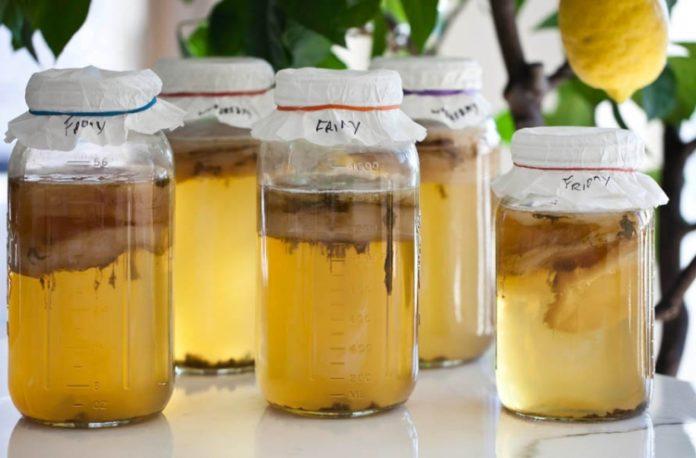 Beneficios para la salud del té de kombucha